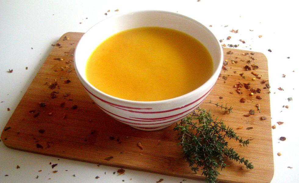 Chili-Karottensuppe