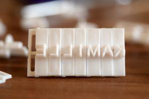 Buchstabenstempel - spiegelverkehrt