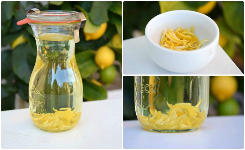 Herrliches Zitronenöl selbstgemacht