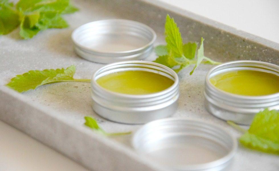 Selbstgemachter Lippenbalsam gegen Fieberblasen und Herpes