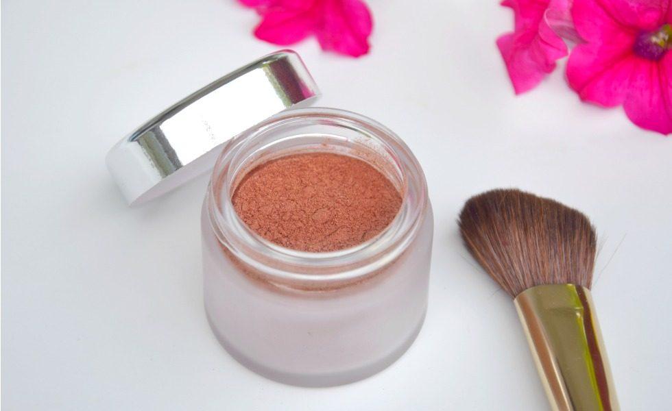 Selbstgemachtes Bronzing Powder DIY Bronzing Powder