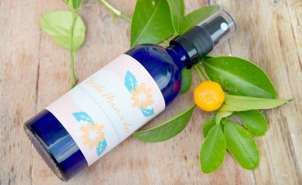 Erfrischender und verwöhnender Körperspray – ideal zum Muttertag!