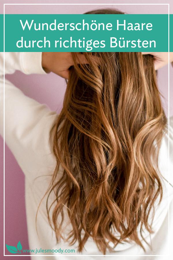 Schöne Haare durch richtiges Bürsten
