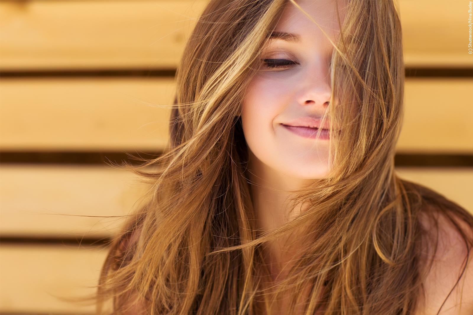 Schönes, gesundes Haar