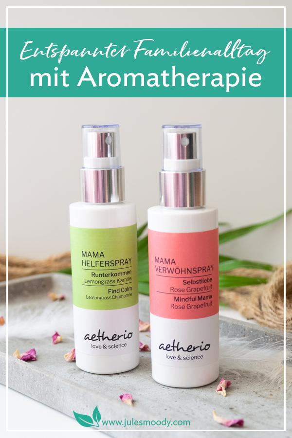 Aromatherapie für einen entspannten Familienalltag