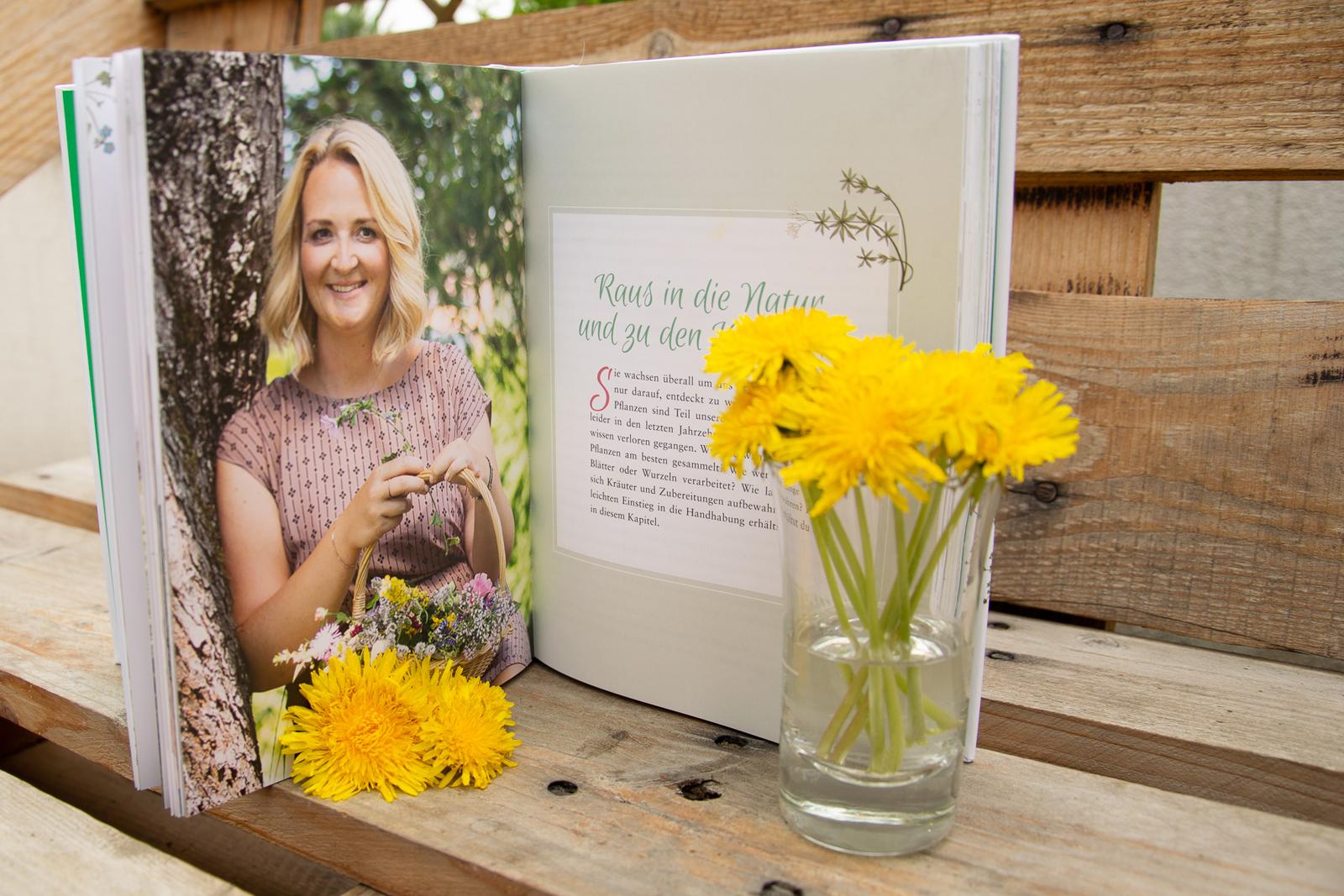 Karina zeigt im Buch anschaulich wie einfach die Natur sein kann