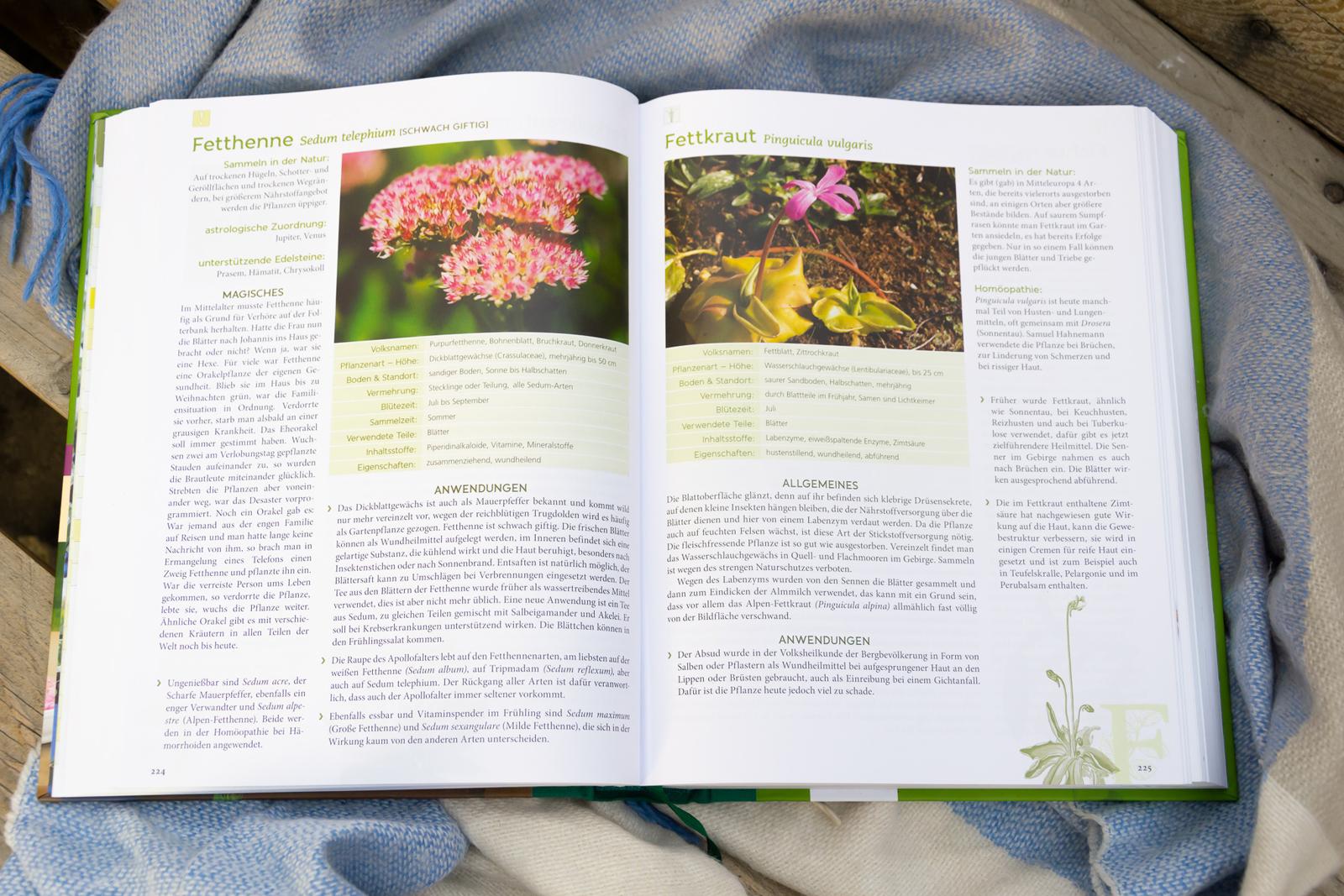 Die toll beschriebenen Pflanzenportraits