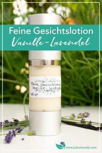 Gesichtslotion mit Vanille und Lavendel