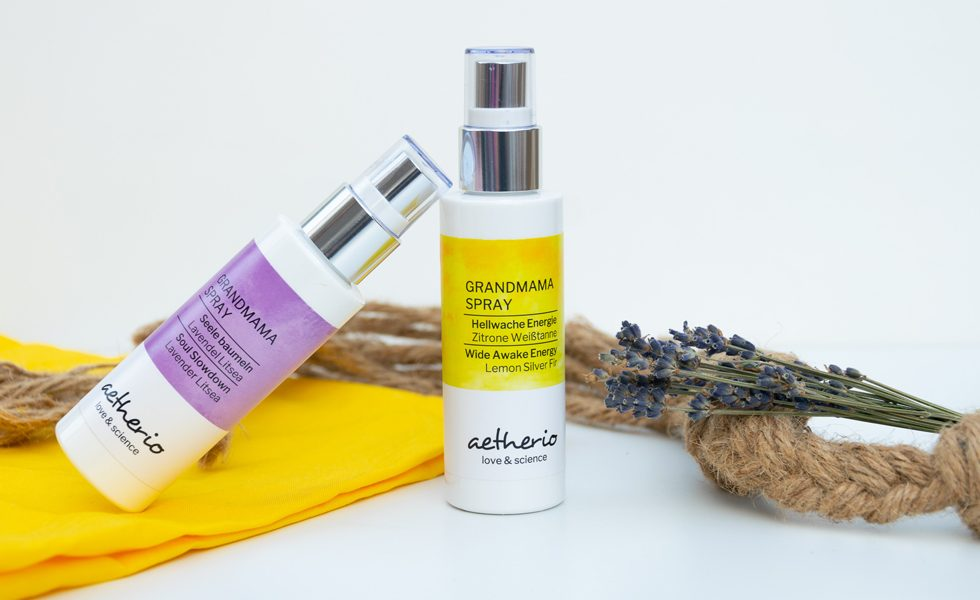 aetherio Grandmama Spray Aromatherapie für Großeltern
