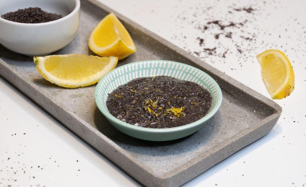 Peeling selber machen mit Zitrone und Mohn ZItronen-Mohn-Peeling selbermachen