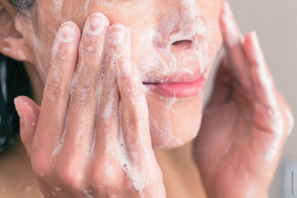 Waschen kann eine Achtsamkeitsübung sein