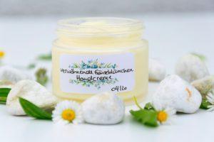 Gänseblümchen-Creme