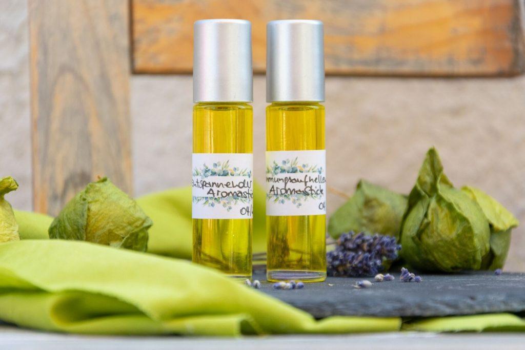 Naturkosmetik selbermachen Parfum Aromastick