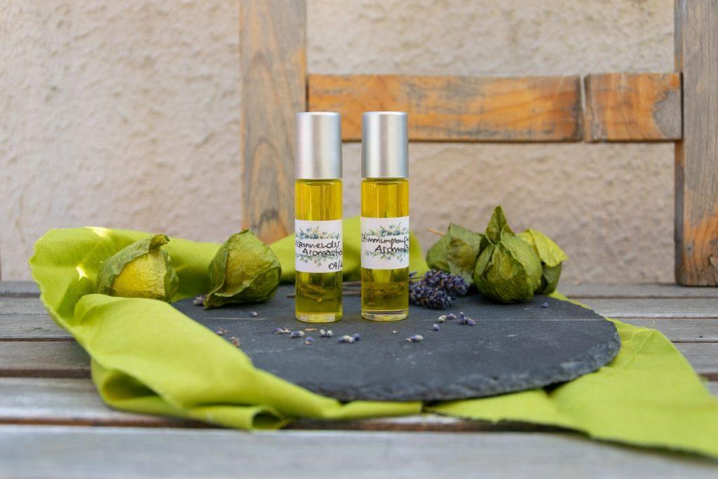Aromastick ganz einfach selbstgemacht ideal als Geschenk Naturkosmetik