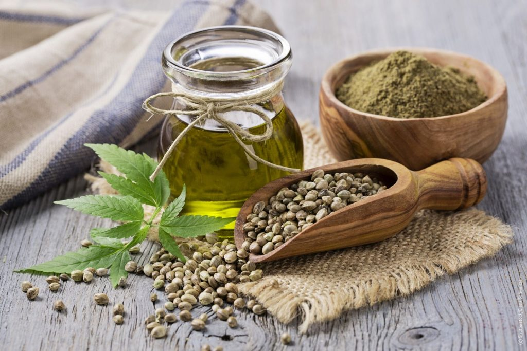 Hanfsamenöl - Naturkosmetik-Rohstoffe
