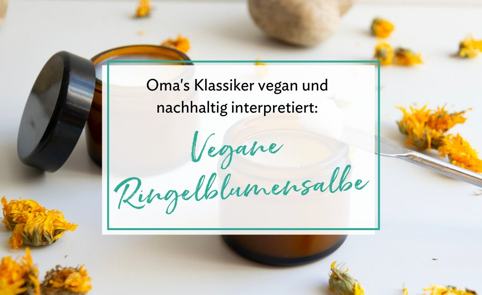 Vegane Ringelblumensalbe
