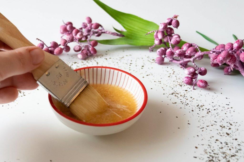 Schnell und einfach selbermachen: Gesichtsmaske aus grünem Tee
