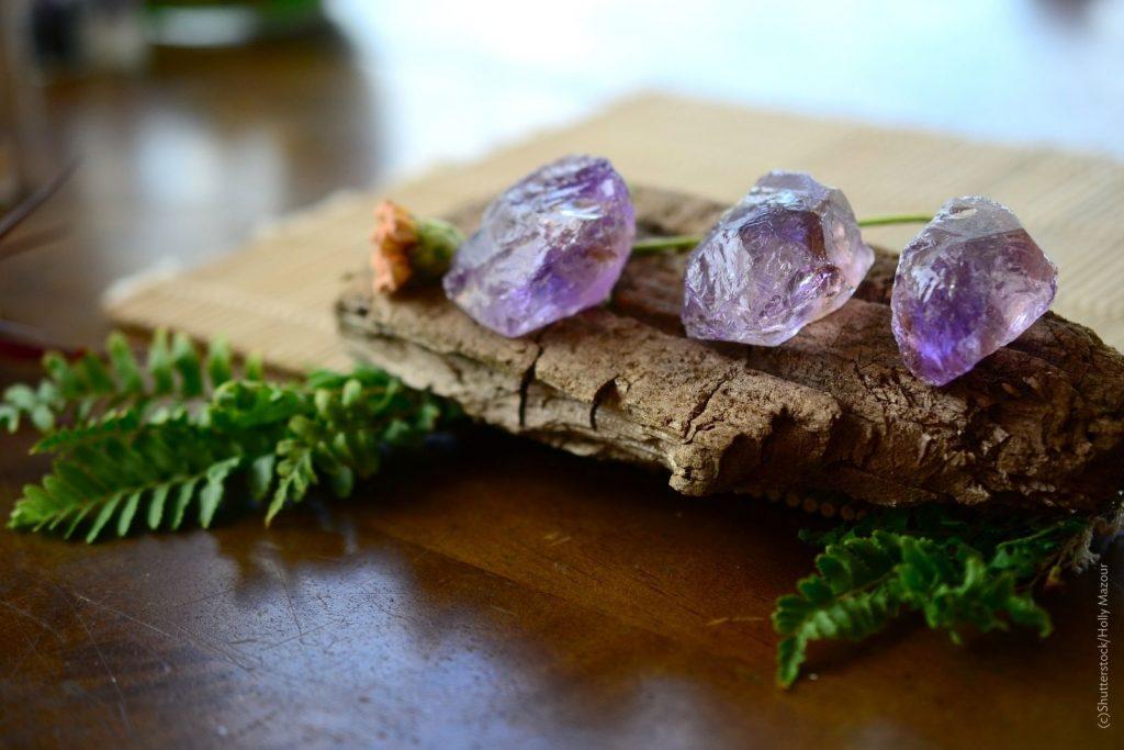 Edelsteine in der Hautpflege: Amethyst