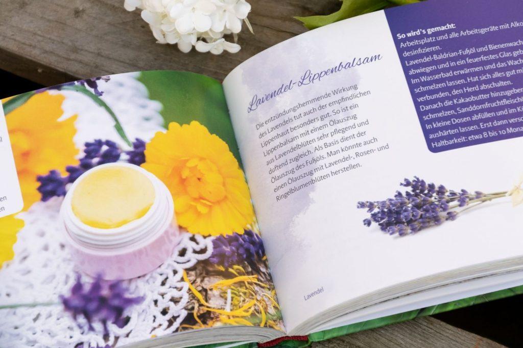 Lavendel-Lippenbalsam
