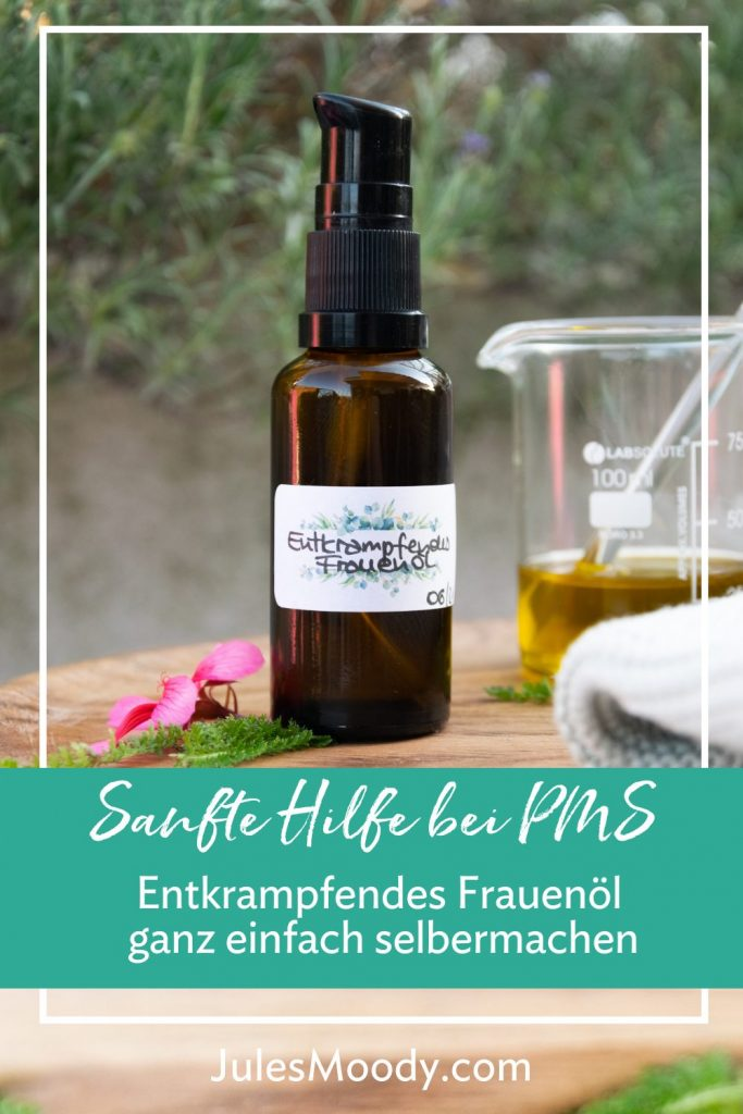 Entkrampfendes Frauenöl PMS-Öl