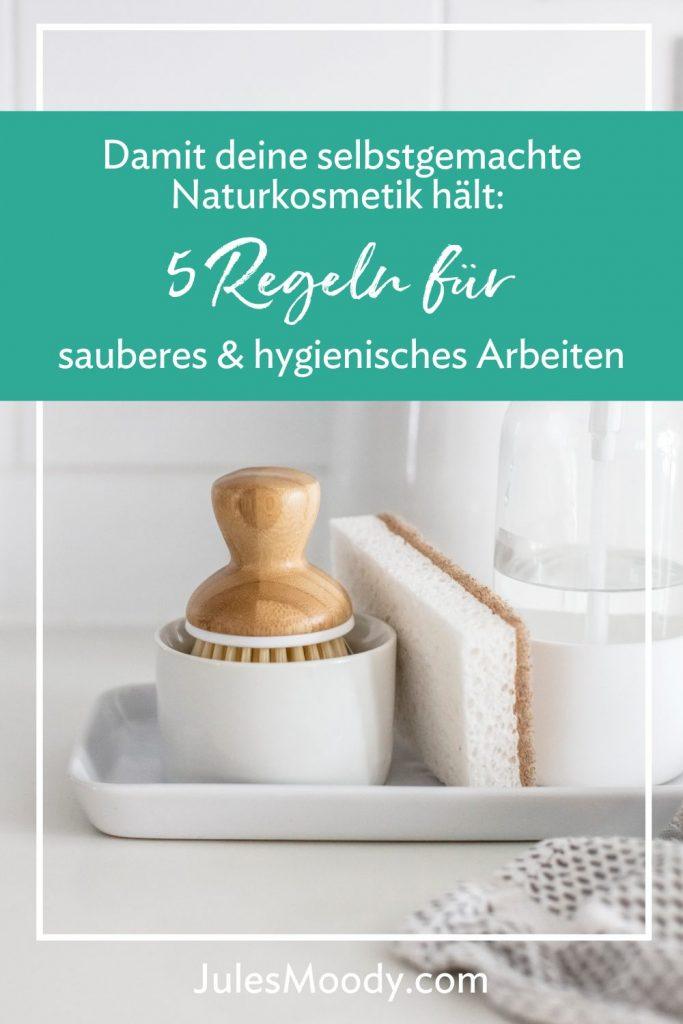 5 Regeln für sauberes und hygienisches Arbeiten